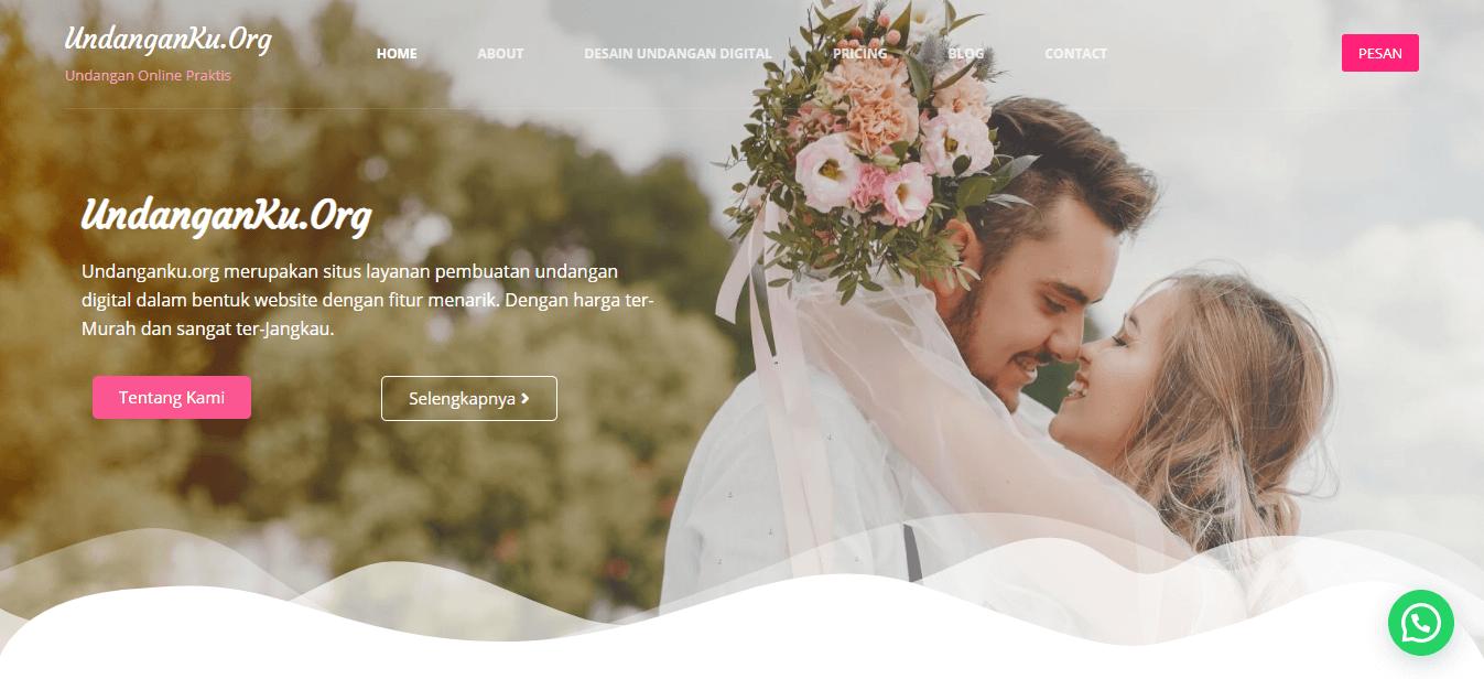 Undangan Online Berbasis Website